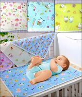 Baby Waterproof Sheet Protector Mattress Kids Toddler Bed Wetting Topper Sheets