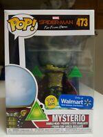 Funko Pop! Marvel Spider-Man Far From Home #473 Mysterio GITD Walmart Exclusive