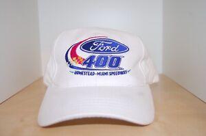 Matt Kenseth #17 FORD 400 2007 Homestead win NASCAR Cap (Race Used)