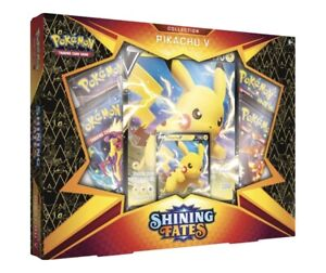 Pokemon Shining Fates Pikachu V Box Sold out everywhere - Trusted UK Seller ✅