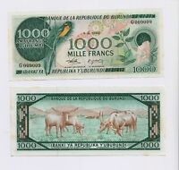 BURUNDI  1000 FRANCS  1982 Banknote  PICK # 31b in  GEM UNC condition