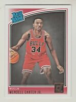 2018-19 Panini Donruss #170 WENDELL CARTER JR RC Rookie Chicago Bulls