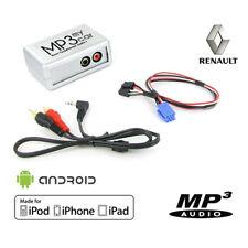Boîtier Auxiliaire MP3 pour autoradios d'origine Renault