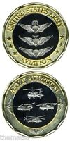 ARMY AVIATION WAR   MILITARY COMBAT CHALLENGE COIN COIN