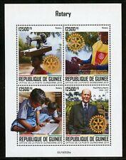 GUINEA 2020 ROTARY PAUL HARRIS  SHEET MINT NH