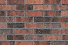Strangpress Klinker-Riemchen NF-Format rot-braun bunt Riemchen Verblender