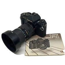 Canon New F-1 Eye Level Finder 35mm SLR Camera FD 35-70mm F/3.5 Lens - OFFER