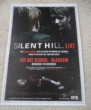 Akira Yamaoka - Silent Hill 2015 music show memorabilia concert gig tour poster