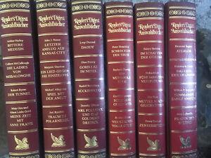 6 Readers Digest Auswahlbücher Roter Einband Ungelesen Wie NEU