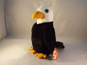 TY BEANIE BABY Baldy The Bald Eagle  born 1996 -  MINT - RETIRED