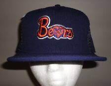 Vintage CHICAGO BEARS Blue Mesh Snapback Trucker Hat from AJD *NEW*