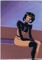 Aeon Flux Original 1990's Production Cel Animation Art Dressing
