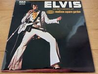Elvis Presley 1972 Elvis As Recorded At Madison Square Garden LP Vinyl UK
