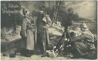 Christmas 1914 Iron Cross Feldpost Patriotic Militaria German WW1 Postcard (2233