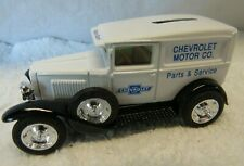 Ertl 1930 Chevrolet Motor Co Parts & Service 9932 Diecast Dime Bank 1/43 NIB