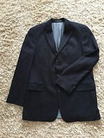 HUGO BOSS LORO PIANA 100% Cashmere Navy Blue Jacket Size 46L !!!NEW!!!