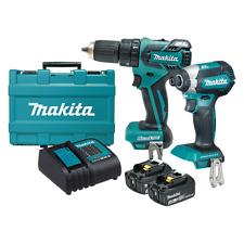 MAKITA 18V BRUSHLESS 2 Piece Combo Cordless Tool Kit Hammer Drill Impact Driver