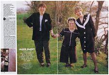 COUPURE DE PRESSE CLIPPING 1994 MIMIE MATHY J'ai eu de la chance         4 pages
