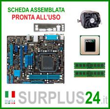 ASUS M5A78L-M LX V2 + Athlon II X3 455 + 4GB RAM |Kit Scheda Madre AM3 I/O #1940