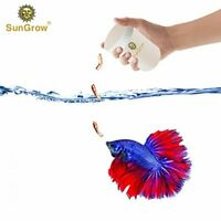SunGrow Freeze Dried Bloodworms: Nutritious Aquatic Pet Food for Betta & Fish