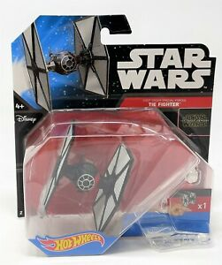 Hot Wheels Star Wars First Order Special Forces TIE Fighter Starship Toy CKJ67