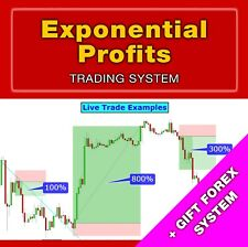 EXPONENTIAL PROFITS Trading System + GIFT Forex System