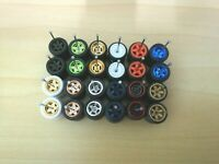 (Promo)HOT WHEELS REAL RIDERS WHEELS RUBBER TIRES 12 SET Mix 1/64 JDM