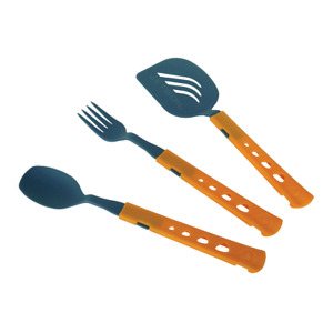 JetBoil JetSet Utensil Kit- Kit includes spoon, fork and spatula