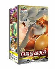 "Pokemon cards Sun&Moon SM10 ""Double Blaze"" Booster Box Pack / Korean Ver"