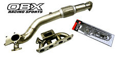 Stainless Steel Header & Downpipe For 2000-2004 Toyota Celica GT 1.8L By OBX
