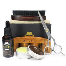 Best Grooming Kit -  6pc set, Beard Oil,Beard Wax, Comb,brush,scissors,mini bag