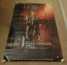 "The Hobbit Desolation of Smaug Movie Blu-Ray Release Poster 27""x39"" JRR Tolkien"