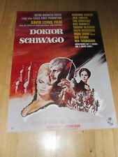 DOKTOR SCHIWAGO - Kinoplakat A1 WA 70er - OMAR SHARIF David Lean
