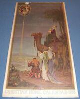 VINTAGE 1935 Calendar Print - JESUS - SACRED ART The Wise Men, NATIVITY series