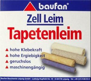 Baufan Tapetenleim 1 kg Zell-Leim Tapetenkleister Tapetenkleber Kleister Tapete
