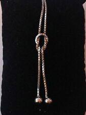 Silver Knot Chain Necklace