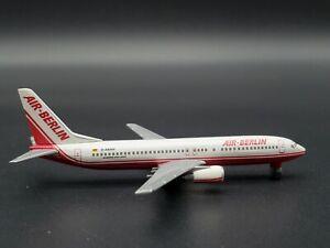 Herpa Wings 1:500 Air Berlin Boeing 737-800 511193C Diecast Model Airplane CC