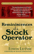 Reminiscences of a Stock Operator-ExLibrary