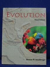 Evolution 3rd ed. von M.W. Strickberger