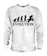 MINI MOTO EVOLUTION OF MAN UNISEX SWEATER MENS WOMENS LADIES GIFT 50CC