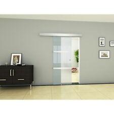 Glass Sliding Door Frosted Interior Internal Doors Design Aluminium System Room