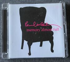 Paul McCartney, memory almost full, CD