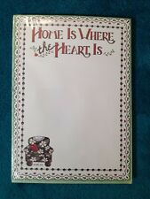 """Sealed Mary Engelbreit """"Home Is Where The Heart Is� Magnetic List Pad 80 sheets"""