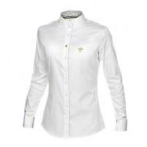 Kingsland Ladies Woven Competition Shirt white/silver XL