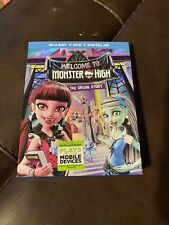 Welcome to Monster High The Origin Story (Blu-ray) With Slipcover Free Shipping