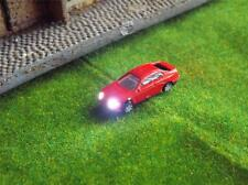 5 x Model Car with led light N Gauge train model rail suit hornby 12v volt 1:150