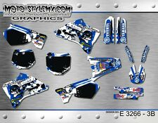 Yamaha YZ 125 250 sticker kit graphics 1996 up to 2001