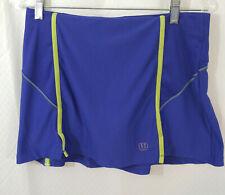 Wilson Tennis Golf Skirt Skort Blue Skirt and Attached Shorts Womens Size Medium