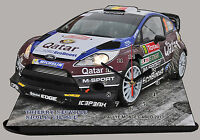 NEUVILLE, FORD FIESTA RS WRC, RALLYE DE MONTE CARLO 2013 en horloge Miniature