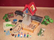 Playmobil Bauernhof Scheune Stall Kuh Stier Zaun Gehege Hasen 4490  4491 4492